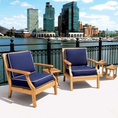 The Seneca chair is ideal for any space - this outdoor collection offers the same refinement you expect from interior furniture. Teak Outdoor Furniture, Furniture Ideas, Outdoor Chairs, Outdoor Decor, Outdoor Spaces, Relax, Lounge, Interior, Collection