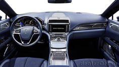 Интерьер седана Lincoln Continental / Линкольн Континенталь. Приборная панель