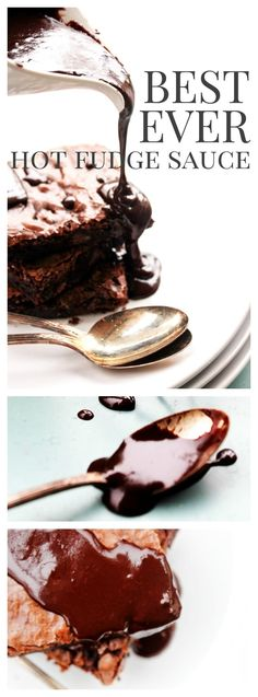 Fudge Brownie No-Bake Cheesecake is a rich, chocolate lover's dream. Made with double chocolate brownie, chocolate chip no-bake cheesecake, and fudge. Dessert Simple, Dessert Sauces, Dessert Recipes, Cake Recipes, Milk Recipes, Pudding Recipes, Frosting Recipes, Egg Recipes, Recipes Dinner