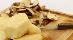 Como aproveitar as cascas de batata