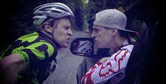 A Mountain Biker and a Road Biker Have a Rap Battle. Here is the Punchline. #mountainbiker #roadbiker #rapbattles
