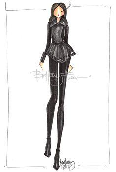 Brittany Fuson: Black on black