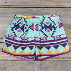 The Billy Native Shorts, Sweet Affordable Clothing from Spool 72. | Spool No.72