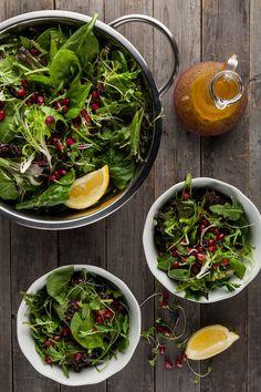 Pomegranate & Greens Salad