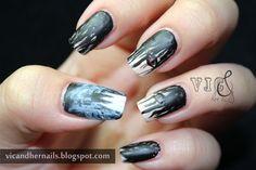 Vic and Her Nails: the grudge halloween  #nail #nails #nailart