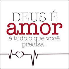 Quem não ama não conhece a Deus, porque Deus é amor. 1 João 4:8
