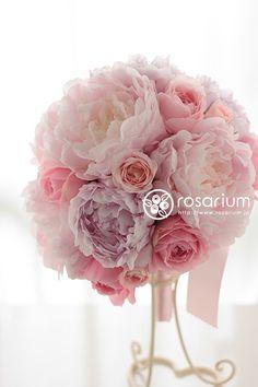 No.f0292・ウエディングブーケ(生花) | rosarium