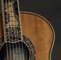 Custom Made Princess of the Wood by Petros Guitars