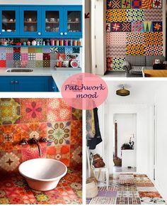 Mattonelle esagonali bagno cerca con google bagni pinterest imbottita patchwork adesivi - Piastrelle esagonali colorate ...