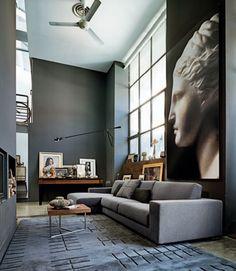 Grey loft - Arketipo catalogue #grey #interiordesign