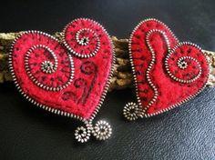 Felt and Zipper Projects by Sandra Du Toit