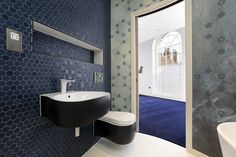 Agape bathroom fittings and new Wet wallpaper from West One bathrooms at St johns hall Bed City, Clawfoot Bathtub, Bathrooms, Wallpaper, Places, Design, Clawfoot Tub Shower, Wallpaper Desktop, Bathroom