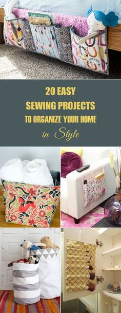 45 quick easy sewing projects for beginners 20 easy sewing projects to organize your home in style solutioingenieria Gallery