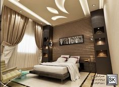 10 Free Tricks: False Ceiling With Fan And Chandelier false ceiling design home.False Ceiling Ideas Architecture false ceiling design for reception.False Ceiling With Fan And Chandelier. Ceiling Design Living Room, False Ceiling Living Room, Bedroom False Ceiling Design, Bedroom Bed Design, Bedroom Ceiling, Modern Bedroom Design, Bedroom Decor, Plafond Design, Luxurious Bedrooms