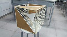 Sfera Architecture Model Making, Conceptual Architecture, Architecture Design, Cardboard Sculpture, 3d Modelle, Cube Design, Sculpture Projects, Diy Crafts Hacks, Interior Sketch
