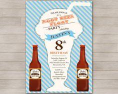 BeerRoot Beer Float Card