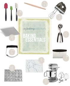 Must-Have Tools For the Home Baker My Baking Addiction Some of the most common questions that pop up in my MBA email have to do with product suggestions. From seeking info about my most reached for spatulas to absolute my favorite mixers – you guys want Cool Kitchen Gadgets, Cool Kitchens, Kitchen Tips, Baking Supplies, Baking Tools, Baking Basics, Must Have Tools, Kitchen Essentials, Culinary Arts