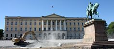The Royal Palace in Oslo is open to the public during the summer. All visitors must follow a guided tour.