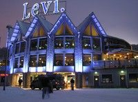 Levi, Lapland (Finland) - ski resort.