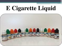 PPT - E Cigarette Liquid - Call Us On 844-343-6833 PowerPoint Presentation
