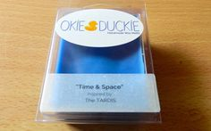 Time & Space  TARDIS Inspired Scented Para-Soy Wax by OkieDuckie