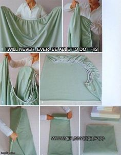 I hate folding sheets