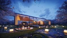 Exterior render by Merêces Arch & Design 3D Visualizations. Max + Vray