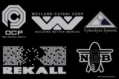 Movie Logos Vector Illustrator Pack