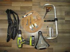 Bike-Wandhalter sind praktisch und sind ideal für kleine Wohnungen. Und sicher noch dazu. Guck dir an, wie wir den low budget Fahrrad-Halter gebaut haben: