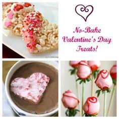 16 Simple & Tasty No-Bake Valentine's Sweet Treats