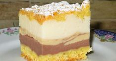 "Homemade cakes and lunches: Cheesecake flavors"" with cream Orange Recipes, Food Cakes, Homemade Cakes, Cheesecakes, Cake Cookies, Vanilla Cake, Cake Recipes, Food And Drink, Cooking Recipes"