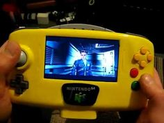 Slipstream 64 a portable handheld Nintendo 64(Game Play & Show) SOLD! - YouTube