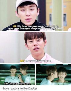 I'm daehyun hahahah dont ship, but its adorable