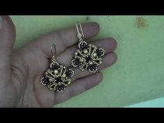 "Tutorial perline: orecchini ""Fan"" 