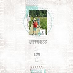 Easy Inspiration 3 (kit by Dunia Designs) Digital Scrapbooking, This Is Us, Design Inspiration, Layout, Templates, Easy, Kit, Shop, Crafts