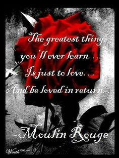 The greatest thing you will ever learn...
