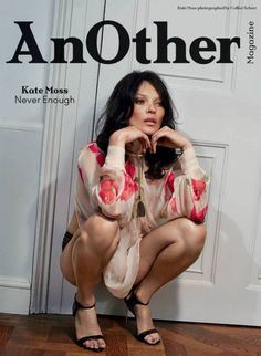 Kate Moss by Collier Schorr for Another Magazine Fall Winter 2014-2015