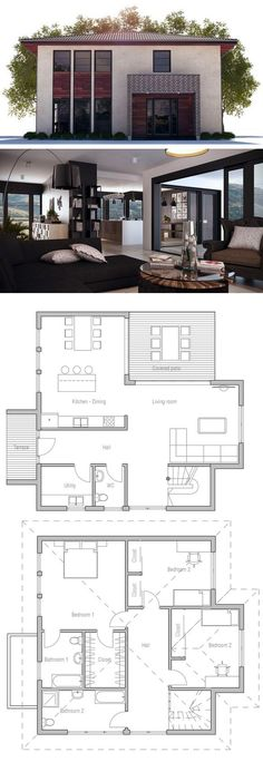 Maison home sweet home Pinterest House, Architecture and - Plan Maison Sweet Home 3d