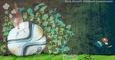 Garrincha Boca Juniors River Plate | Caricaturas - Yahoo Noticias