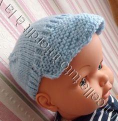 tuto gratuit poupée : casquette - Chez Laramicelle I Dress, Mousse, Doll Clothes, Crochet Hats, Beanie, Dolls, Tejidos, Amigurumi, Weaving