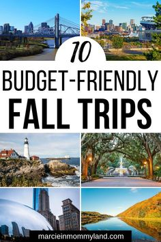 Looking for an affordable fall travel spot? Find out 10 budget-friendly fall tri. Looking for an affordable fall travel spot? Find out 10 budget-friendly fall trips in the United States that are ama Cheap Travel, Budget Travel, Budget Planer, Vsco, Best Places To Travel, United States Travel, Cookies Et Biscuits, Travel Guides, Travel Tips