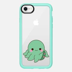 Casetify iPhone 8 Classic Grip Case - Octopus by Mint Corner