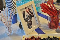 "Birthday ""Captain America Birthday Party"" 