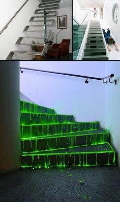 Bizarre Staircases