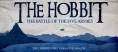 """Had the idea for this while watching the second movie again, because of the """"cliffhanger"""" (even if I know what will happen, because I read the book, it'. The Hobbit:Battle of the Five Armies Minim. Two Movies, Movie Tv, Hobbit Films, The Five, Minimalist Poster, Tolkien, Lotr, The Hobbit, How To Look Pretty"""