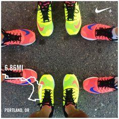 geneluu: Break 'em out. Break 'em in.... | Nike Plus Running