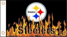 Pittsburgh Steelers Flag 3ft x 5ft Polyester NFL Banner Flying Custom flag 90x150cm free shipping 101