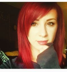 When someone tells me I'm too old to have an emo hairstyle I'm gonna show them Jen Ledger