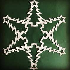 Snowflake patterns - winter craft - paper snowflakes - cut out yourself - snowflake templates - 20 snowflake patterns Paper Snowflake Designs, Paper Snowflake Template, Snowflake Craft, Snowflakes Art, Christmas Snowflakes, Christmas Paper, Winter Christmas, Christmas Projects, Holiday Crafts