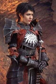 Dragon Age II cosplay. Cassandra Pentaghast by Dark Incognito. Part one Photo by Akami
